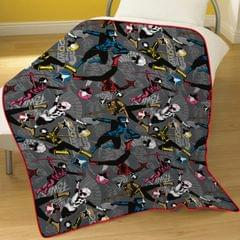 Power Rangers Childrens/Kids Ninja Fleece Blanket