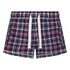 Comfy Co Womens/Ladies Gals Flannel Shorts