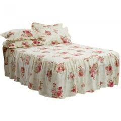 Emma Barclay Luxury Quilted Floral Epsom Bedspread With Pillowshams Bedding Set