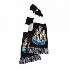 Newcastle United FC Official Crest Design Bar Scarf