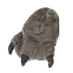 Childrens/Kids Big Boys Monster Feet Design Indoor Slippers