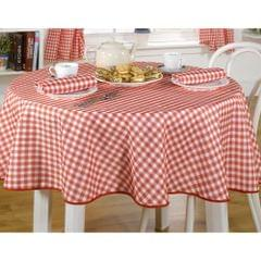 Molly Gingham Check Pattern Tablecloth