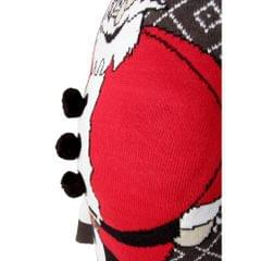 Brave Soul Mens Padded Belly Santa Knitted Christmas Jumper