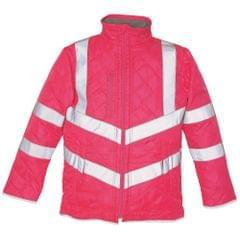 Yoko Mens Kensington Hi-Vis Safety Jacket