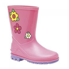 StormWells Girls Puddle Floral Rain Boots