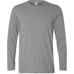 Gildan Mens Soft Style Long Sleeve T-Shirt