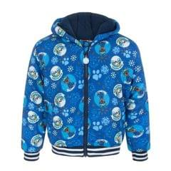 Paw Patrol Childrens Boys Lets Snow Blue Coat