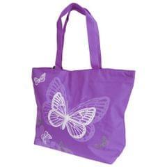 FLOSO Womens/Ladies Floral Butterfly Design Handbag