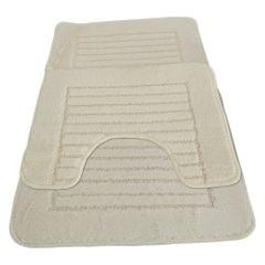 Eurobano Feel The Difference Bath And Pedestal Mat Set