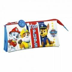 Paw Patrol Childrens/Kids Official Top Pups Triple Pencil Case
