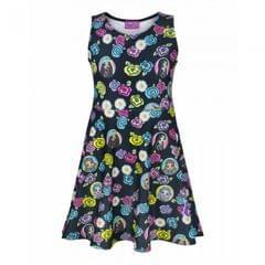 Bratz Childrens/Girls Official All Over Character Print Skater Dress