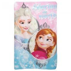 Disney Frozen Childrens Girls Sharing The World Fleece Blanket