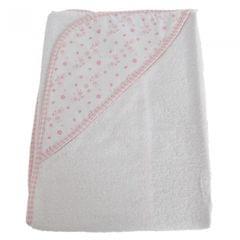 Snuggle Baby Baby Boys/Girls Flower Hooded Towel
