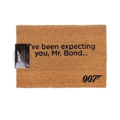 James Bond Official Ive Been Expecting You Door Mat