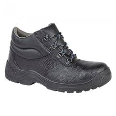 Grafters Mens Padded Collar D-Ring Chukka Safety Boots