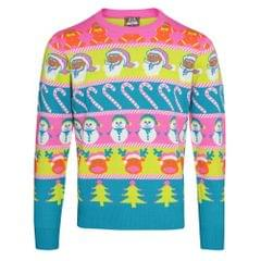 Christmas Shop Adults Unisex Multi Character Christmas Sweater