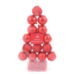 Christmas Shop - Lot de 16 décorations de Noël