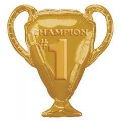 Anagram Supershape Ballon - Gold Pokal