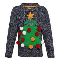 Christmas Shop Kinder 3D-Weihnachtspullover