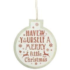 Christmas Shop - Décoration de Noël 'Be Merry'