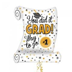 Anagram Abschluss -Ballon - You Did It Grad