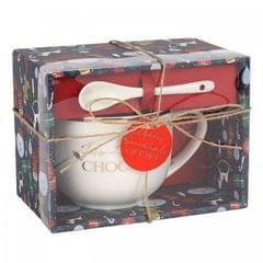 Something Different Ho Ho Hot Chocolate Mug And Spoon Set