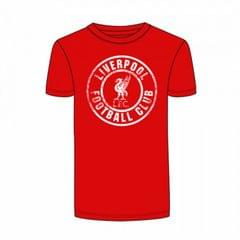 Liverpool FC Official Mens Round Crest T-Shirt