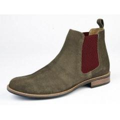 Roamers Mens Suede Gusset Boots