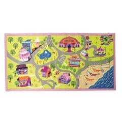 Flair Rugs Childrens/Girls Girls World Bedroom Rug