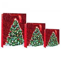 Eurowrap Geschenktüte mit Weihnachtsbaum-Motiv