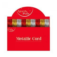 Eurowrap North Pole Metallic-Gummibänder