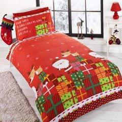 Weihnachtliches Bettwäsche-Set Dear Santa