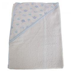 Snuggle Baby Baby-Handtuch mit Kapuze, Kronen-Design