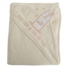 Snuggle Baby Baby-Handtuch mit Kapuze, Milchflaschen-Design