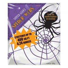 Amscan Halloween Stretchable Spiders Web