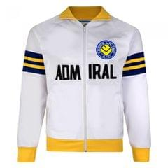 Leeds United FC Official Mens 1978 Admiral Retro Track Jacket