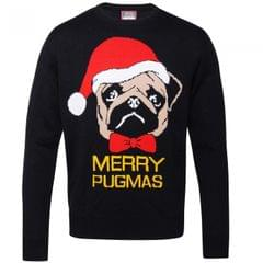 Christmas Shop - Pull carlin 'Merry Pugmas' - Mixte
