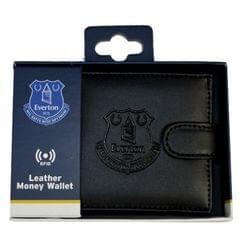 Herren RFID-Ledergeldbeutel mit Everton-FC-Prägung