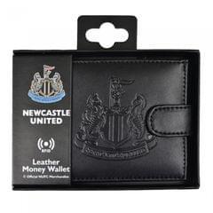 RFID-Ledergeldbeutel mit offizieller Newcastle United Official FC Prägung