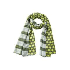 Myrtle Beach Adults Unisex Stripes And Stars Scarf