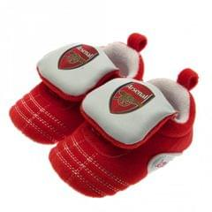 Arsenal FC Touch Fastening Baby Crib Shoes