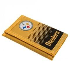 Pittsburgh Steelers Touch Fastening Fade Design Nylon Wallet
