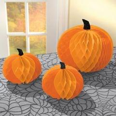 Amscan Halloween Pumpkin Honeycomb Centerpiece
