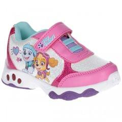 Leomil Paw Patrol Childrens Girls Skye And Everest Light Up Sneakers