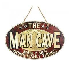 Heaven Sends Männer Höhle Schild