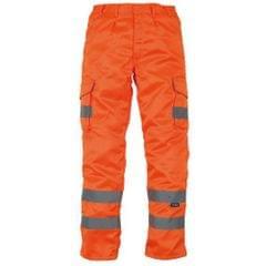 Yoko - Pantalon cargo haute visibilité