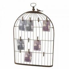 Heaven Sends Bird Cage Card Holder