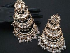 Kundan Danglers for perfect you