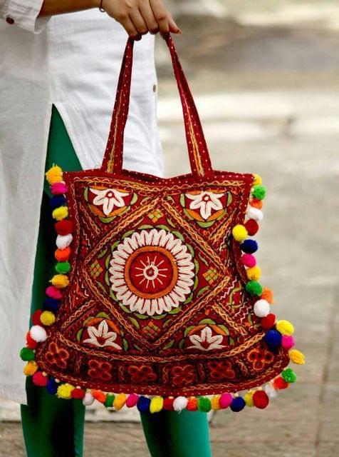 Handmade Bag- Original Kutch work