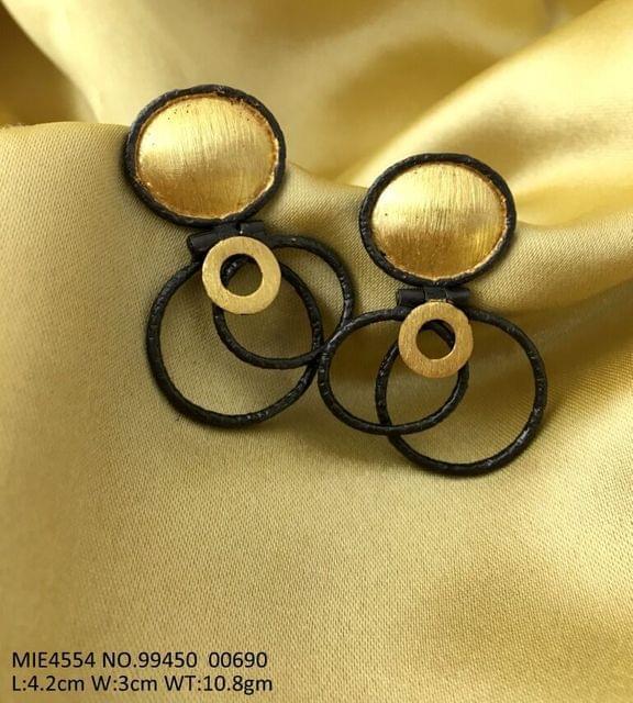 Brass Earrings with an year warranty